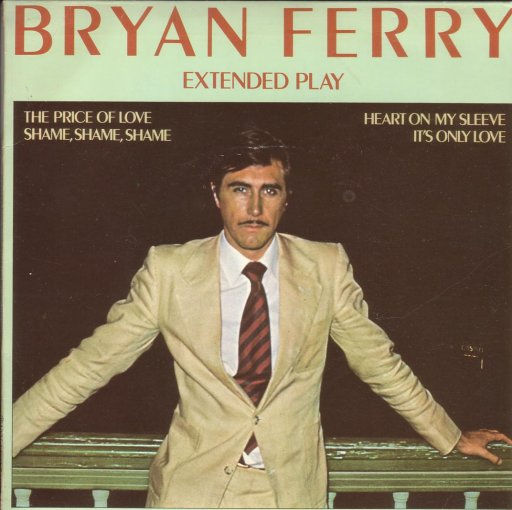 Brian Ferry - Extended Play - 45T SP 2 titres