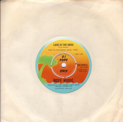 Roxy Music - Love is the drug / Sultanesque - 7inch SP